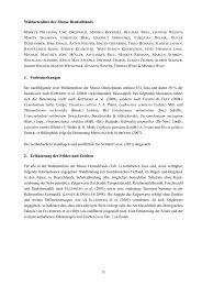 Waldartenliste der Moose Deutschlands 1. Vorbemerkungen 2 ...