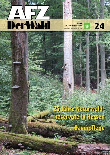 """""""25 Jahre Naturwaldreservate in Hessen"""" als PDF"""