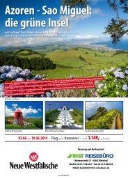 Azoren - Sao Miguel: die grüne Insel