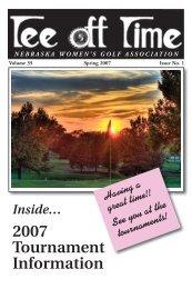 2007 Tournament Information - Nebraska Women's Amateur Golf ...
