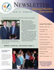 October 2008 - National Weather Association