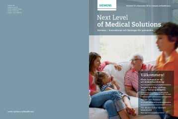 Next Level Of Medical Solutions, december 2012 (PDF 1 ... - Siemens