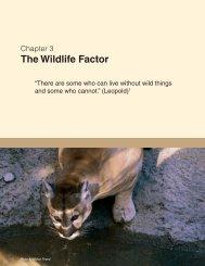 The Wildlife Factor - National Wildlife Health Center - USGS