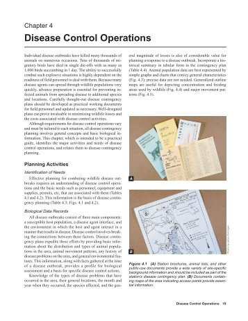 Disease Control Operations - National Wildlife Health Center