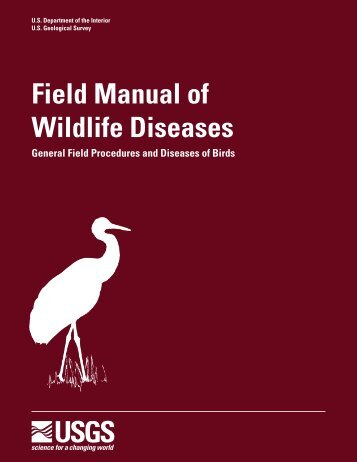 Field Manual of Wildlife Diseases - National Wildlife Health Center ...