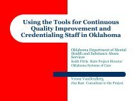 Using the Tools for Continuous Quality Improvement and ...