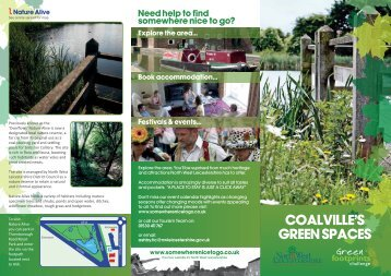 coalville's green spaces - North West Leicestershire District Council