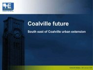 South East Coalville - North West Leicestershire District Council