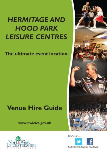 Download Your Copy of the Event Hire Brochure - North West ...