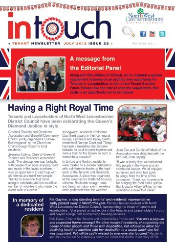 Intouch July - North West Leicestershire District Council