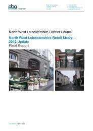 Retail Capacity Study Update - Final Report March 2013