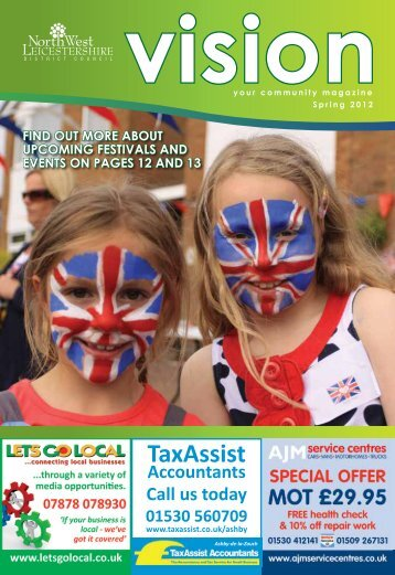Vision - Spring 2012 - North West Leicestershire District Council