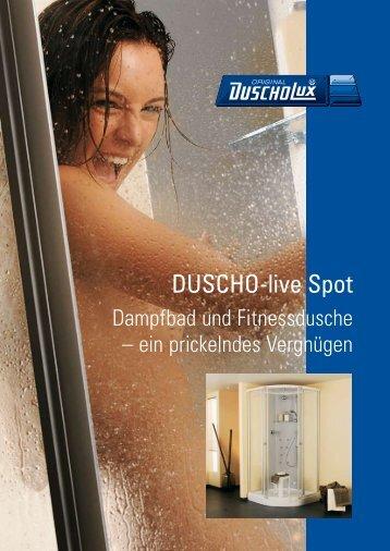 Prospekt Duscho-live Spot - Duscholux