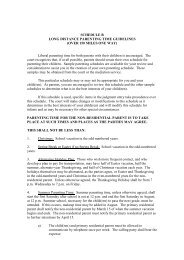 EX7-SCHEDULE B - Long Distance Parenting Guidelines _Henry ...