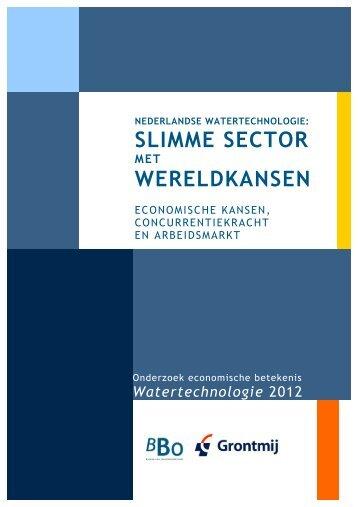 Rapport Nederlandse Watertechnologie - NWP