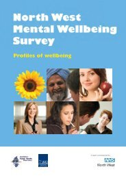 Profiles of Wellbeing - North West Public Health Observatory