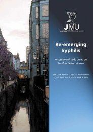 Re-emerging Syphilis : A case control study based on the ...