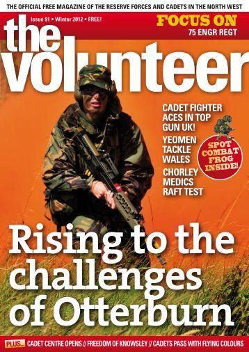 The Volunteer - NWRFCA - Northwest Reserve Forces & Cadets ...