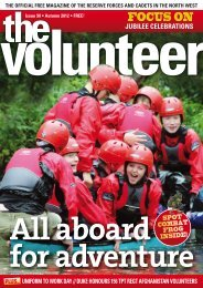 The Volunteer - NWRFCA - Northwest Reserve Forces & Cadets ...