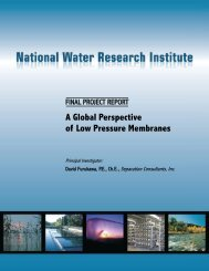 A Global Perspective of Low Pressure Membranes - National Water ...