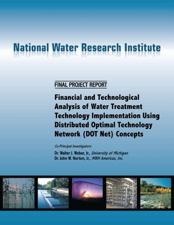 Financial and Technological Analysis of Water Treatment ...