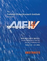2006 MF IV Abstracts.. - National Water Research Institute