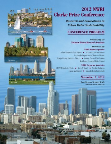 to download a PDF of the Conference Program - National Water ...