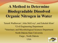 A Method to Determine Biodegradable Dissolved Organic Nitrogen ...