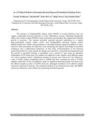 An ATP Based Method to Determine Bacterial Regrowth Potential in ...