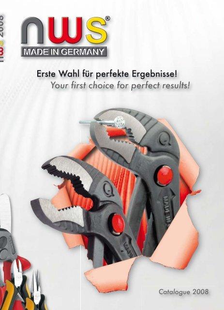 NWS Hebel-Kraft-Seitenschneider Fantastico 200 mm für harte /& weiche Materialien