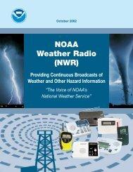 NOAA Weather Radio (NWR)