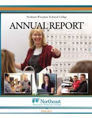 2010-2011 ANNUAL REPORT FINAL.pdf - Northeast Wisconsin ...