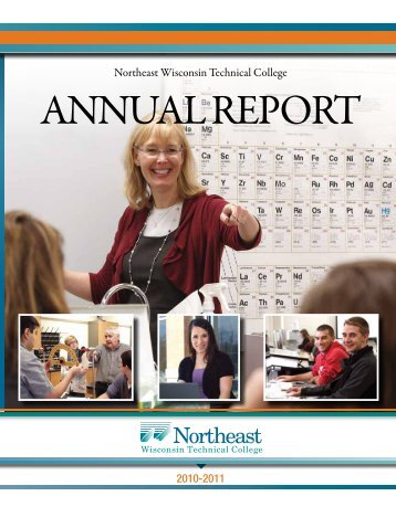 2010-2011 ANNUAL REPORT FINAL.pdf - Northeast Wisconsin ...