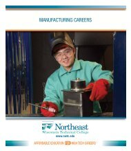 Manufacturing careers