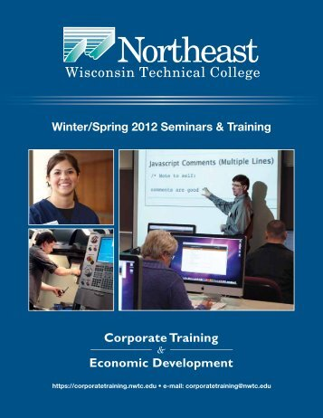 CTED WinterSpring2012 Seminar Catalog.pdf - Northeast ...