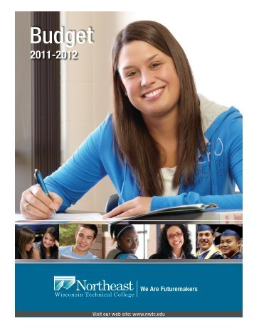 NWTC FY2012 Budget Document - Northeast Wisconsin Technical ...