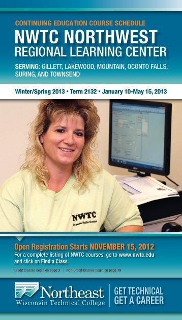 8539CRLS NORTHWEST WinterSpring 2013.pdf - Northeast ...