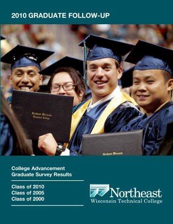 2010 graduate follow-up - Northeast Wisconsin Technical College