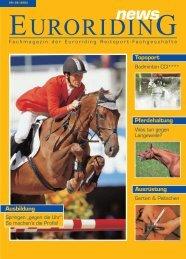 Pferdehaltung Ausrüstung Topsport Ausbildung - Euroriding