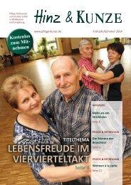 Hinz & Kunze, Ausgabe Frühjahr/Sommer 2014