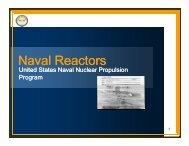 Naval Reactors
