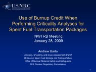 Andrew Barto - US Nuclear Waste Technical Review Board