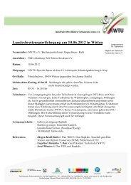 Landesbreitensportlehrgang am 10.06.2012 in Witten - NWTU ...