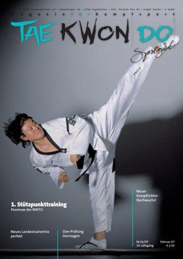 Taekwondo Spiegel 1 - 2007.indd - NWTU - Nordrhein Westfälische ...