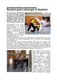 Danprüfung am 21.06.09 in Bielefeld