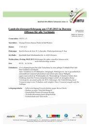Landesbreitensportlehrgang am 17.03.2013 in Dorsten Offenen für ...