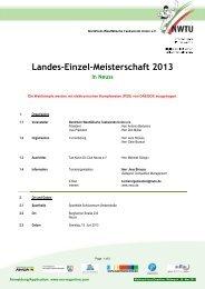 Landes-Einzel-Meisterschaft 2013 - NWTU - Nordrhein Westfälische ...