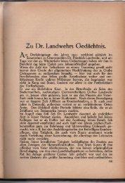 Dr. Friedrich Landwehr (1866-1911). - Naturwissenschaftlicher ...