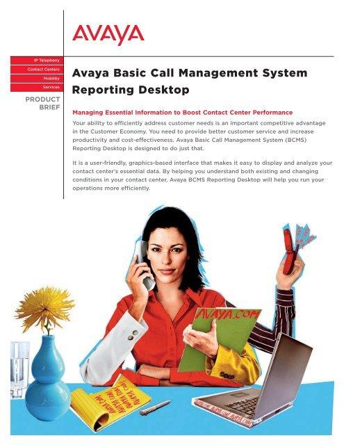 avaya bcms reporting desktop