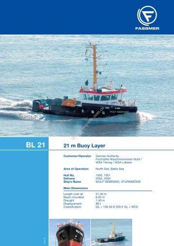 21 m Buoy Layer